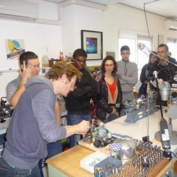 Visite de l'atelier de Luc MONET (Horloger)