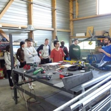 Visite de l'entreprise Steel-Metal
