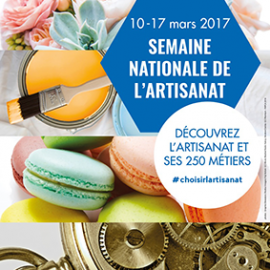 Semaine Nationale de l'Artisanat : 10 – 17 mars 2017