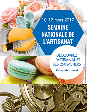 Semaine Nationale de l'Artisanat : 10 – 17 mars 2017