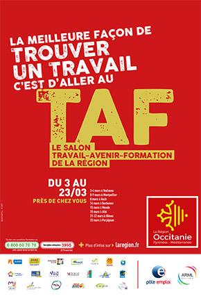 Salon TAF à Mende le 15 mars