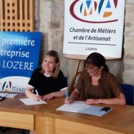 Correspondant TPE : signature d'une convention avec la Banque de France