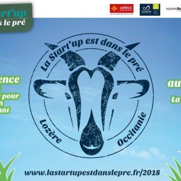 «La Startup est dans le pré / Lozère – Occitanie» les inscriptions sont ouvertes