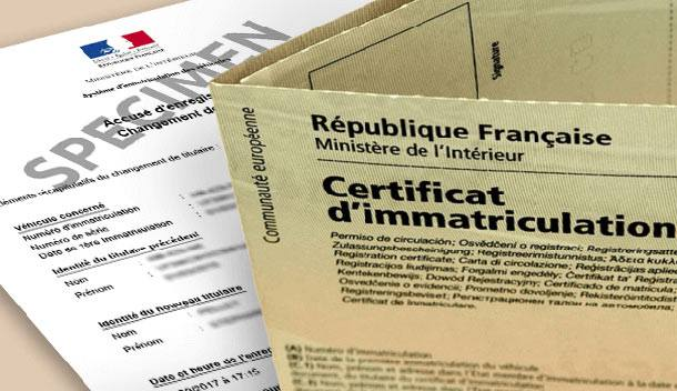 Infos SIV – Immatriculation des véhicules