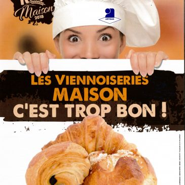 Label 100 % viennoiseries maison