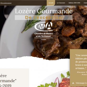 Site internet du Concours Lozère Gourmande