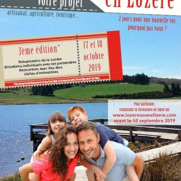 Une nouvelle vie en Lozère,  pourquoi pas vous?