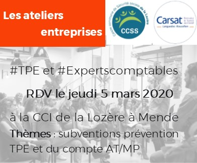 Atelier Entreprises 2020