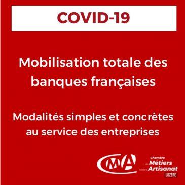COVID-19 Mobilisation totale des banques françaises