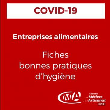 Covid-19 Entreprises alimentaires de proximité [Fiches pratiques CGAD]