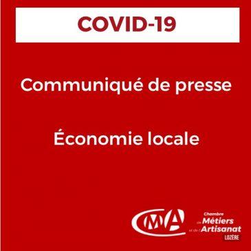 COVID-19 Communiqué de presse