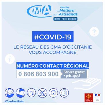 COVID-19 NUMÉRO CONTACT RÉGIONAL