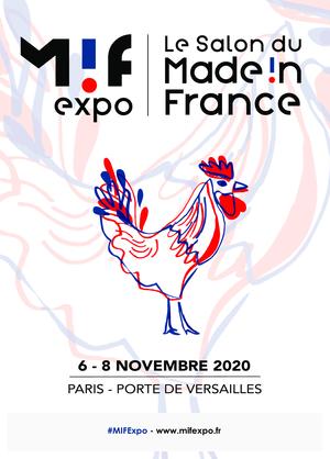 Salon du Made in France du 6 au 8 novembre 2020 à Paris