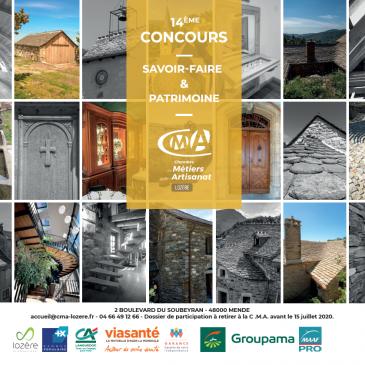Concours Savoir Faire et Patrimoine 2020