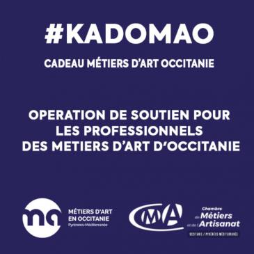 #KADOMAO – Cadeau Métiers d'Art Occitanie