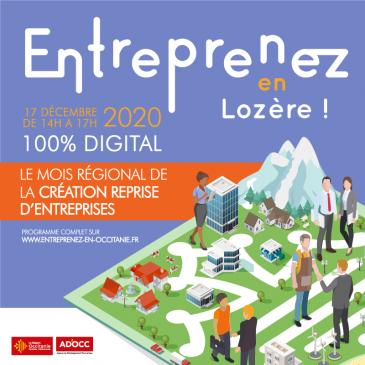 Entreprenez en Lozère !