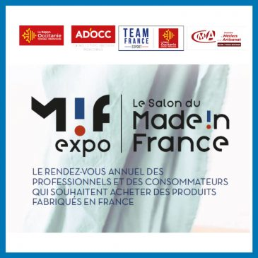 Salon Made In France du 11 au 14 novembre 2021 à Paris