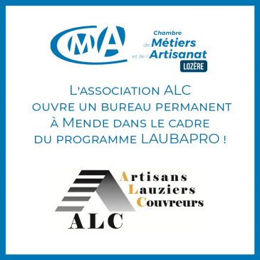 L'association ALC ouvre un bureau permanent à Mende dans le cadre du programme LAUBAPRO !