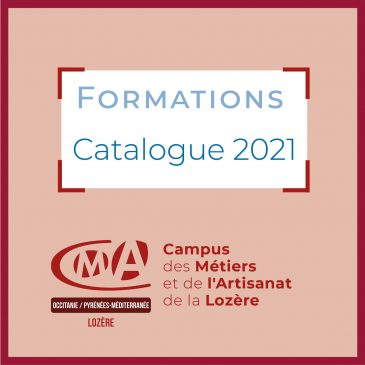 FORMATIONS [ CATALOGUE 2021 ]