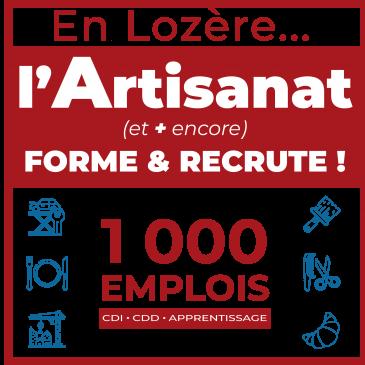 La Lozère recrute ! #emplois